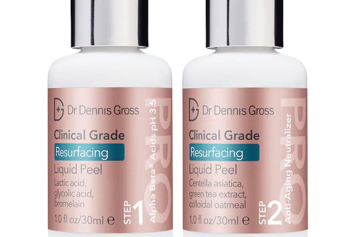 dr dennis gross skincare clinical grade resurfacing liquid peel