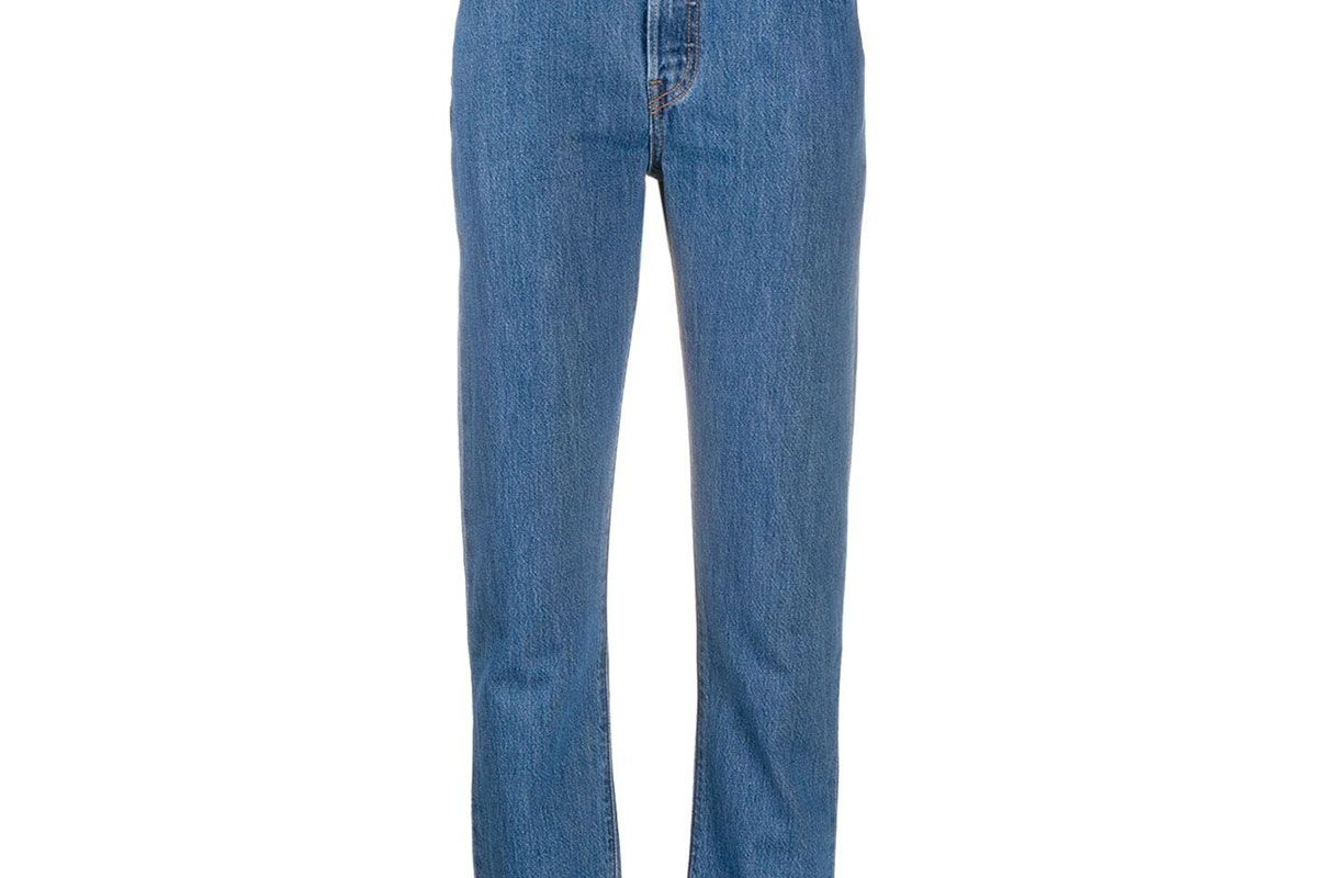 levis cropped 501 jeans