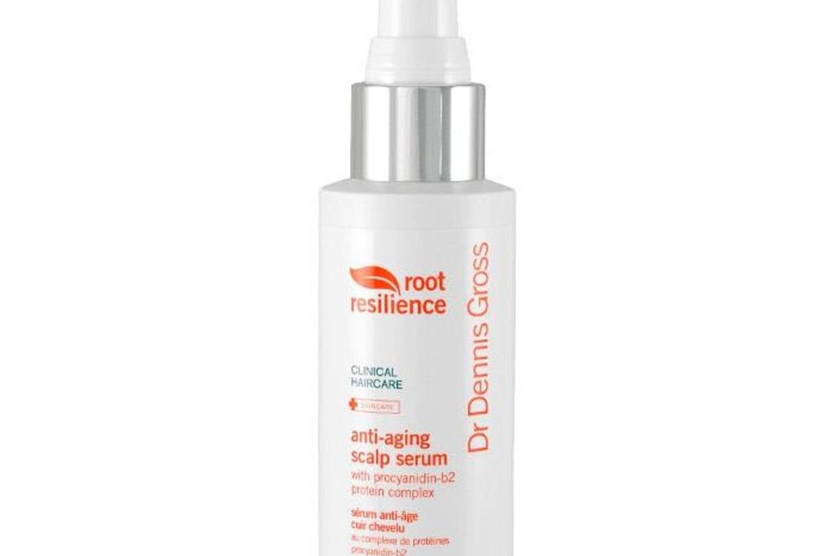 dr dennis gross root resilience anti aging scalp serum