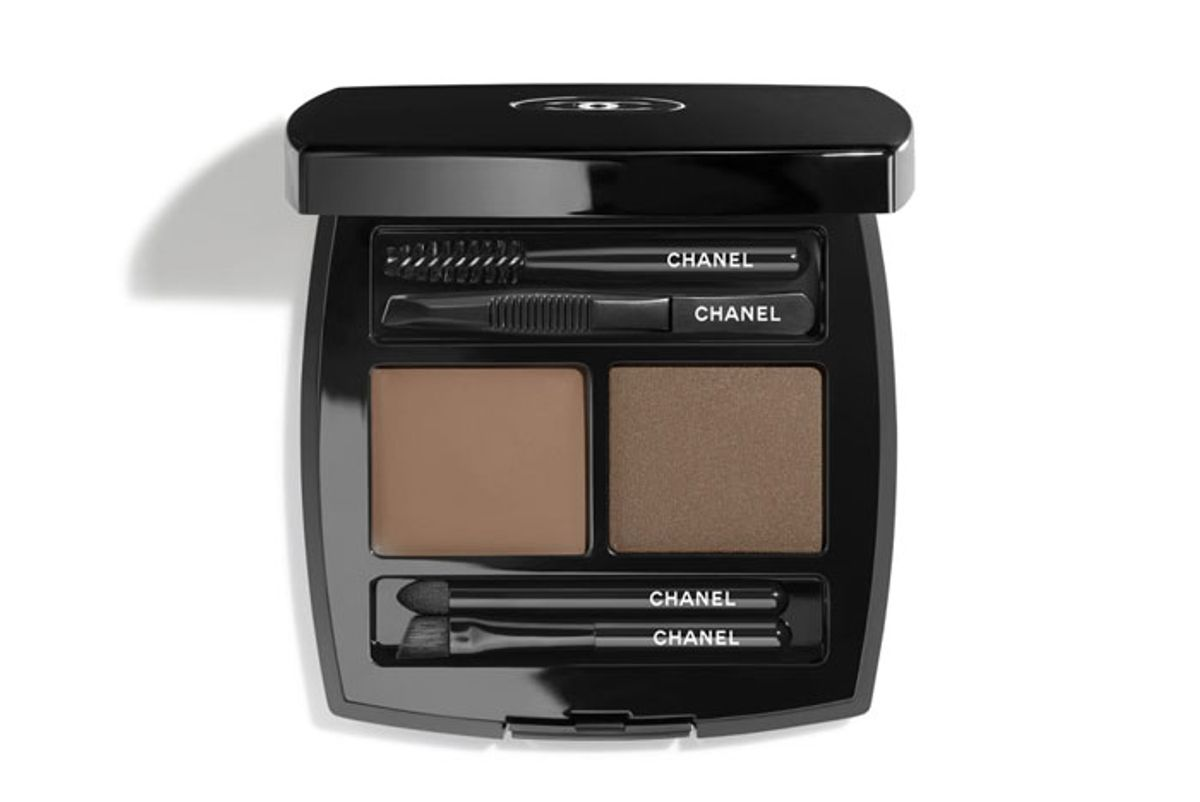 chanel la palette sourcils brow wax brow powder duo