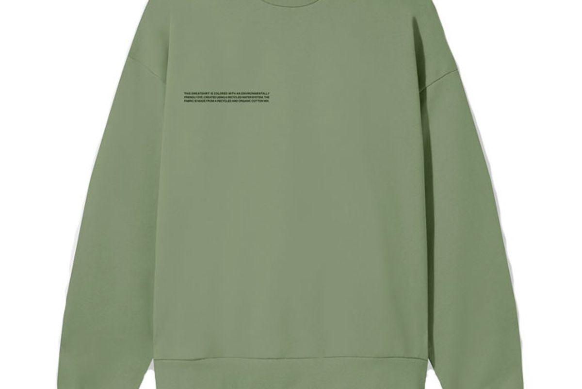 pangaia lightweight recycled cotton sweatshirt