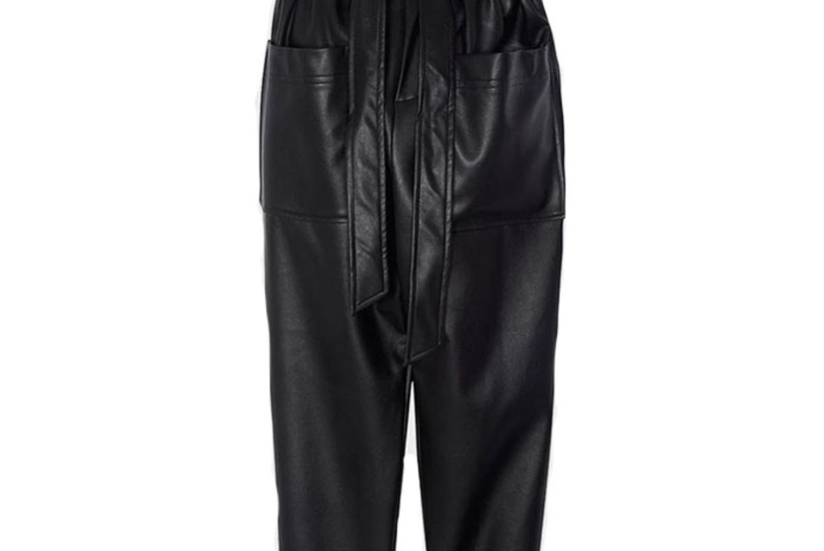 the frankie shop kate high waist paperbag pants