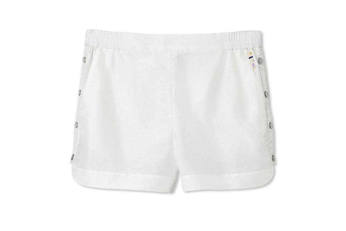 tibi crispy nylon shorts