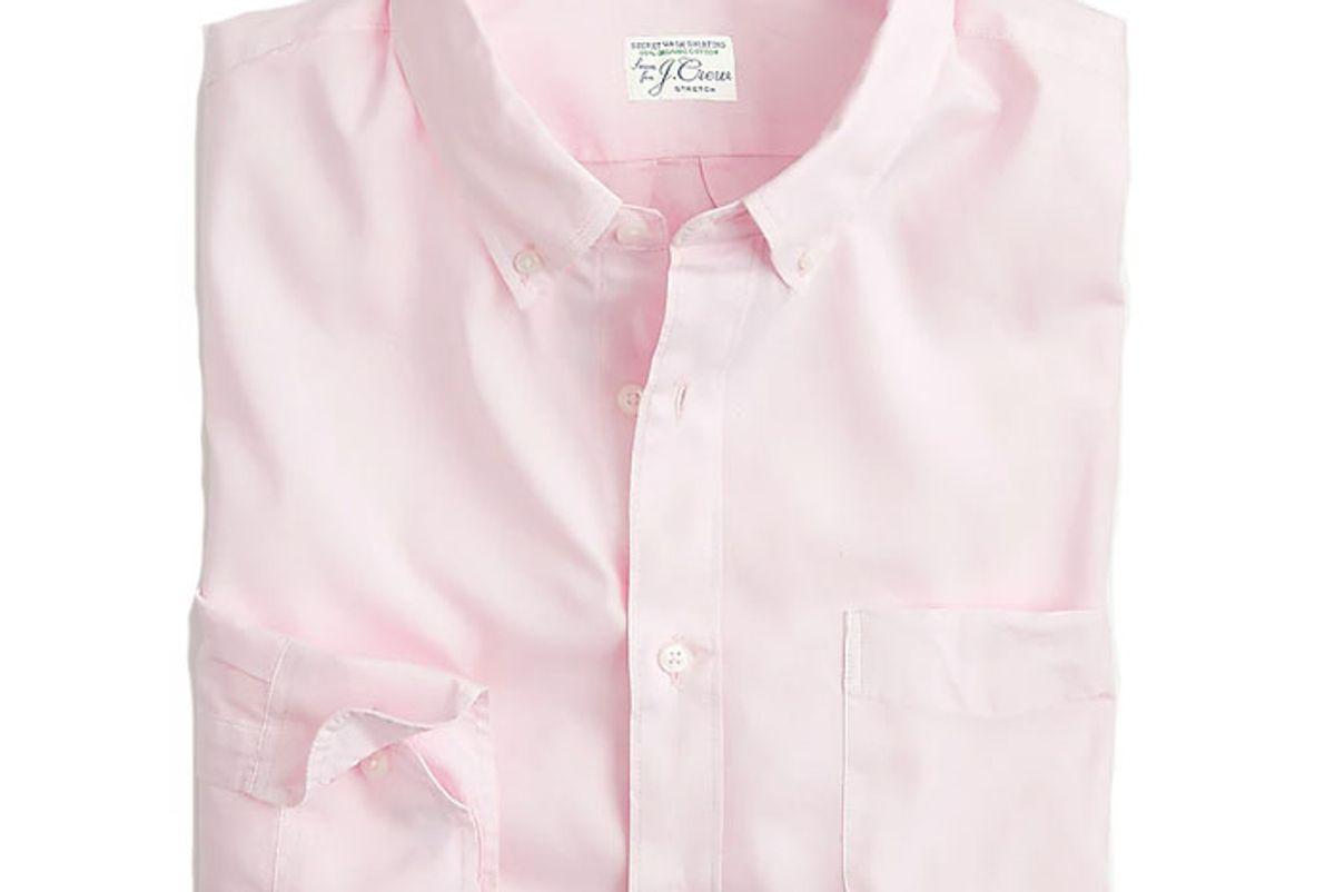 jcrew slim stretch secret wash shirt