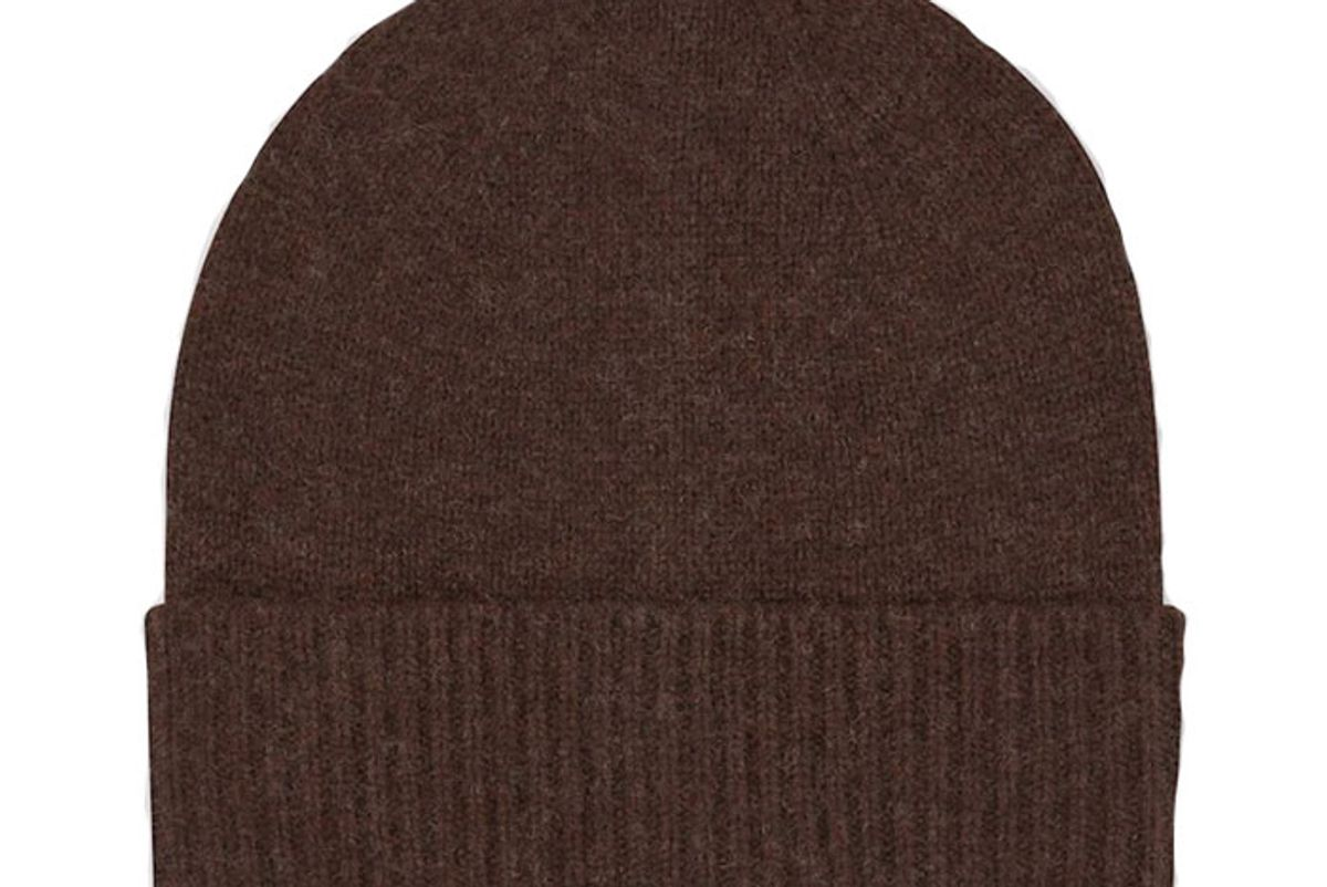 uniqlo cashmere knitted beanie