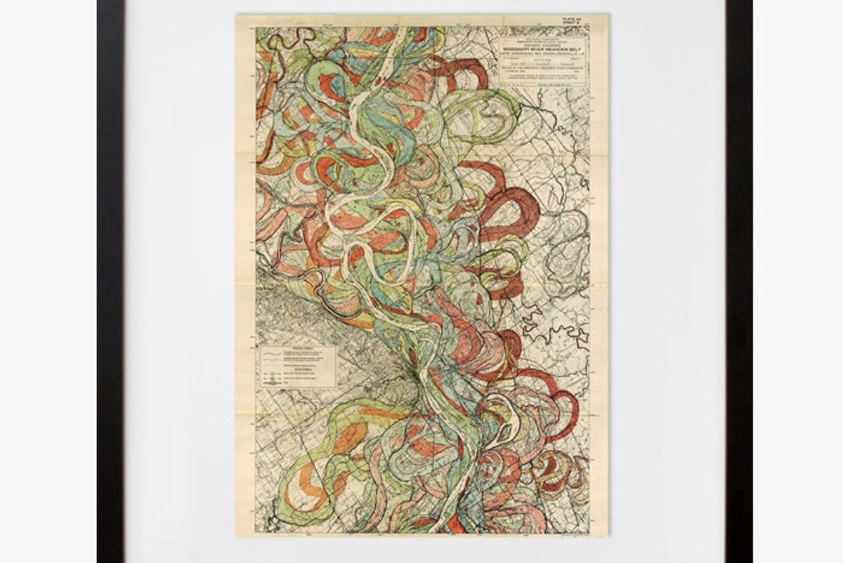 plate 22 sheet 6 ancient courses mississippi river meander belt