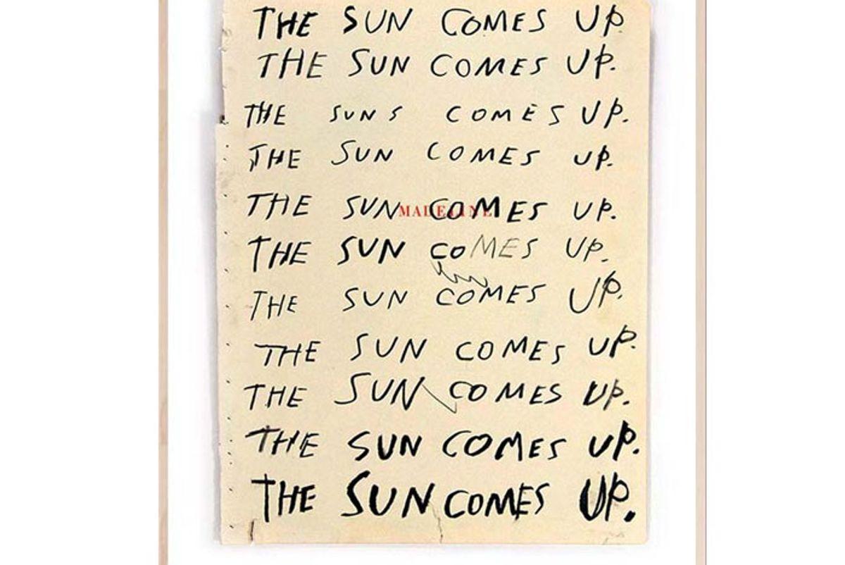 abel macias the sun comes up