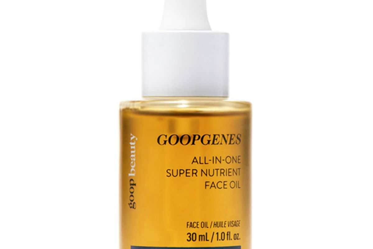 goop beauty goopgenes all in one super nutrient face oil