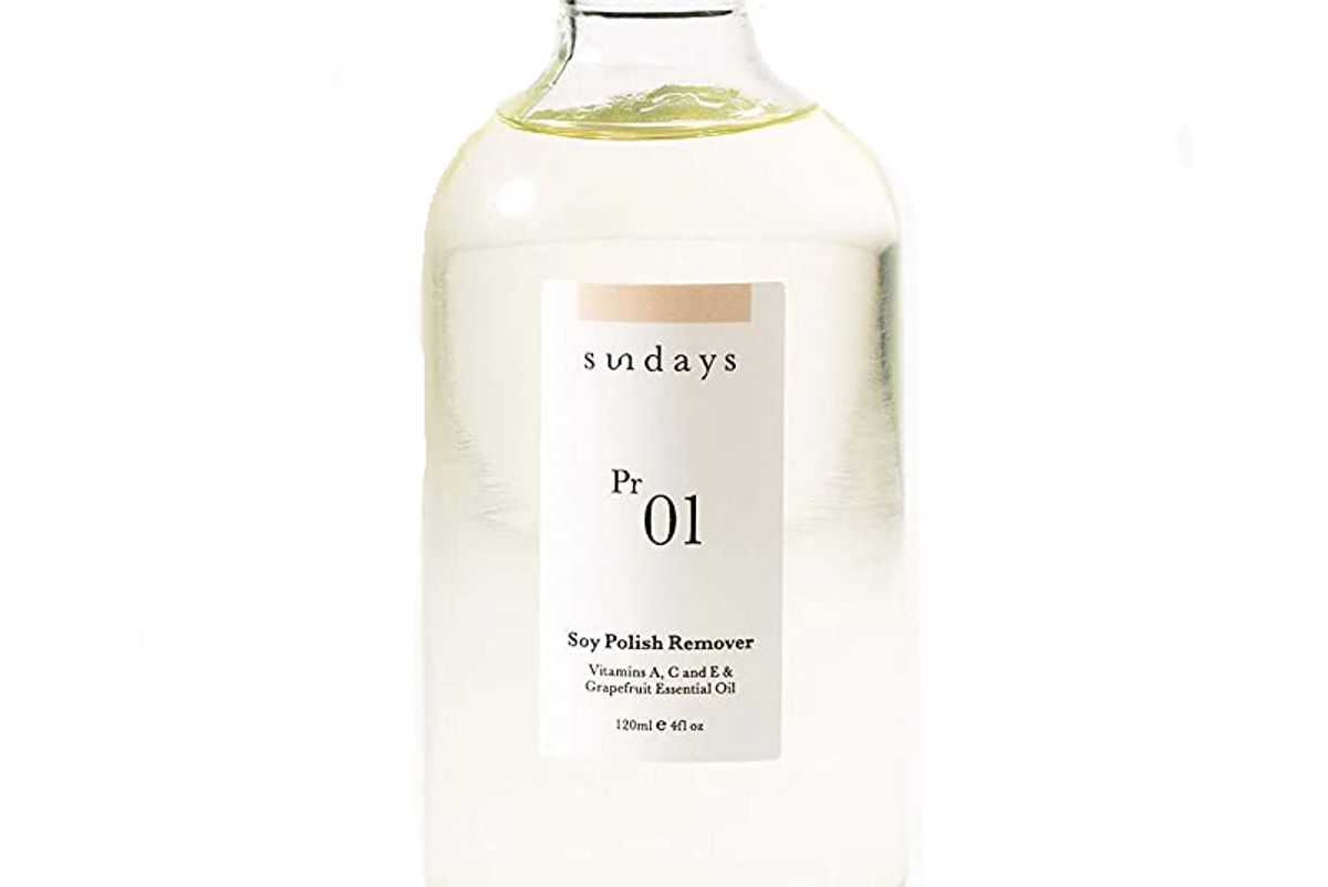 sundays pr 01 soy polish remover