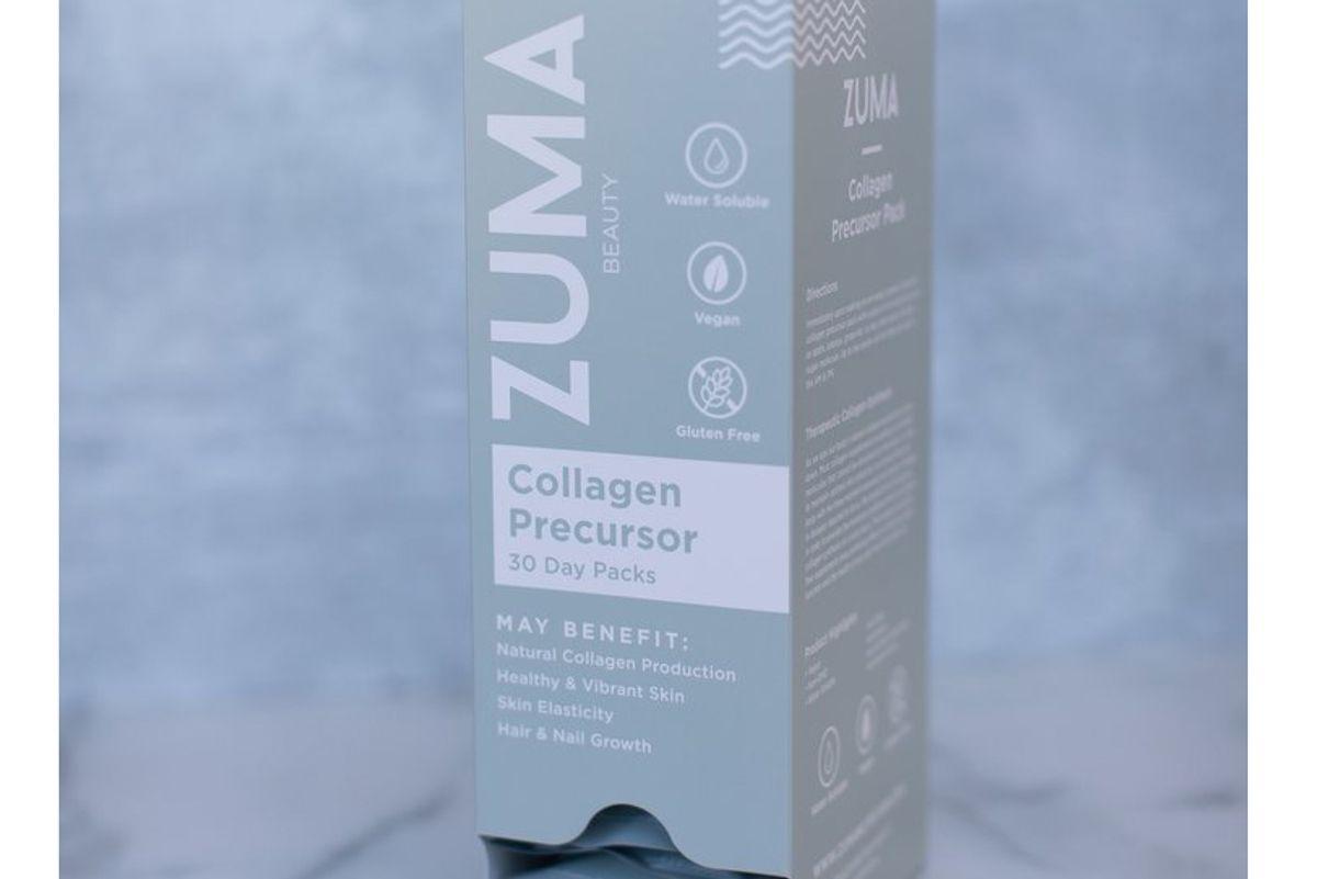 zuma nutrition vegan collagen precursor daily packs