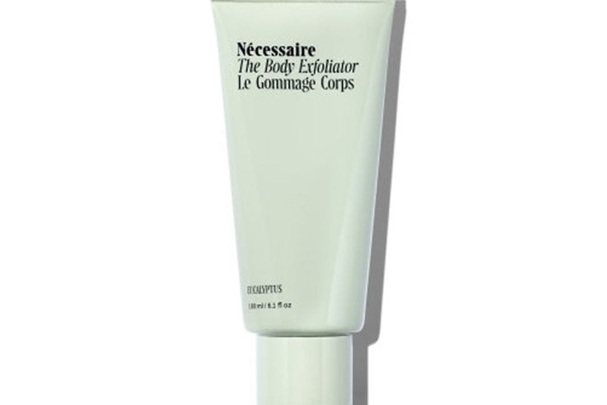 necessaire the body exfoliator with bamboo charcoal
