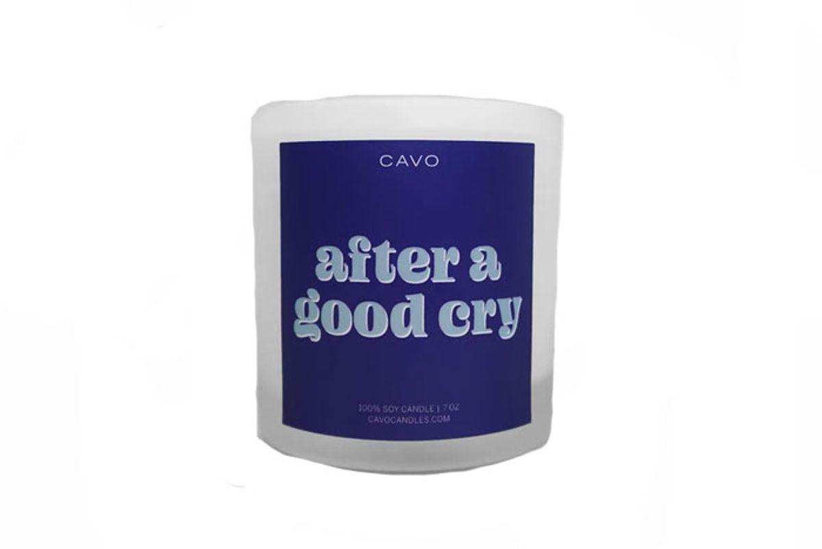 cavo after a good cry candle