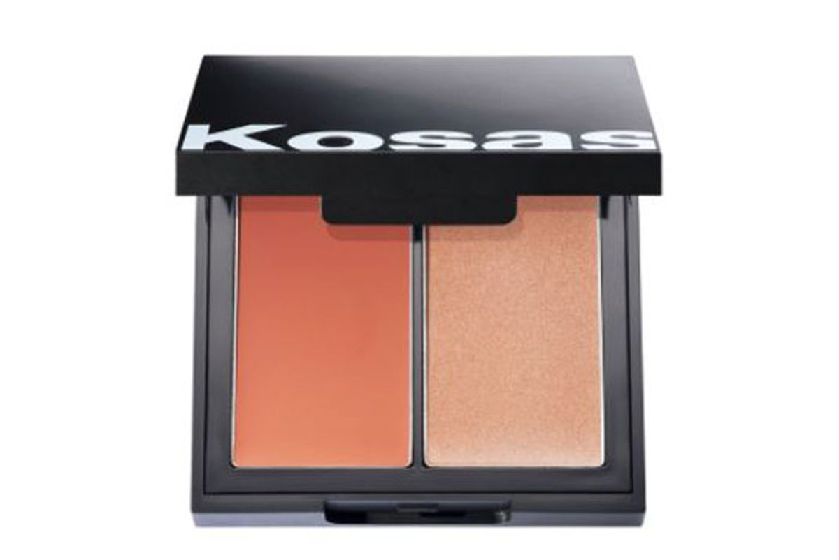 kosas color and light palette dewy cheek duo