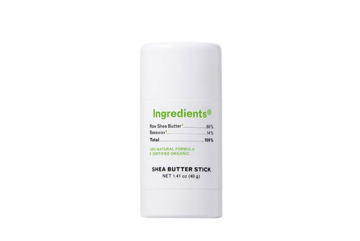 ingredients shea butter stick