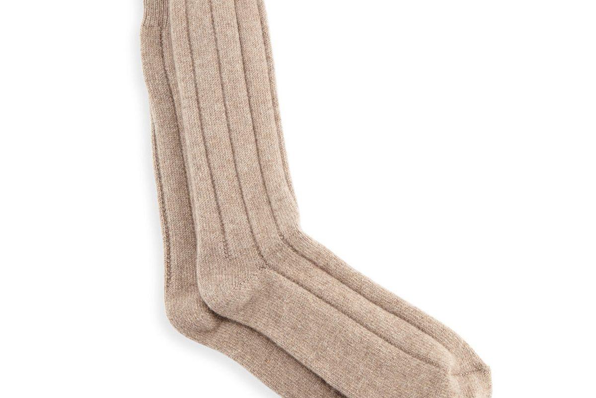 neiman marcus mens ribbed cashmere socks