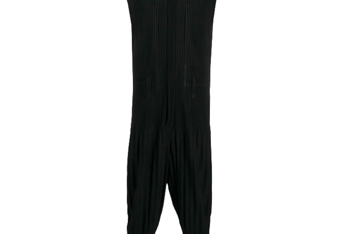 homme plisse issey miyake micro pleated jumpsuit