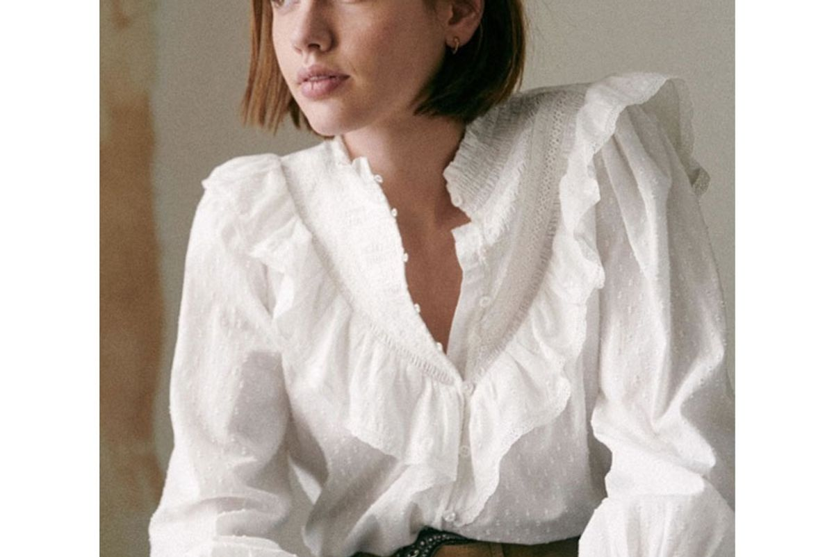 sezane marty shirt