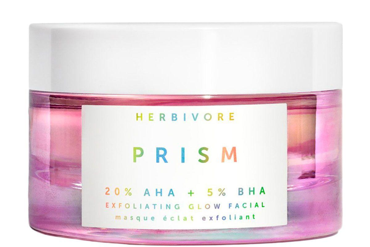 herbivore prism 20 aha 5 bha exfoliating glow facial