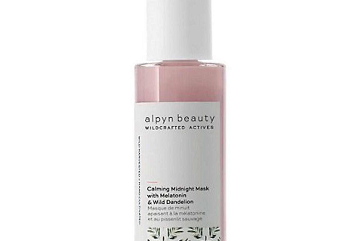 alpyn beauty sleep cream with melatonin and bakuchoil
