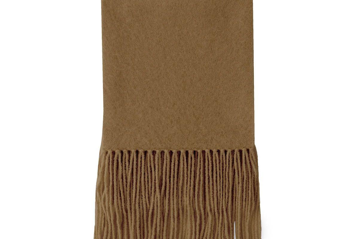 joseph alpaca blend fringed scarf
