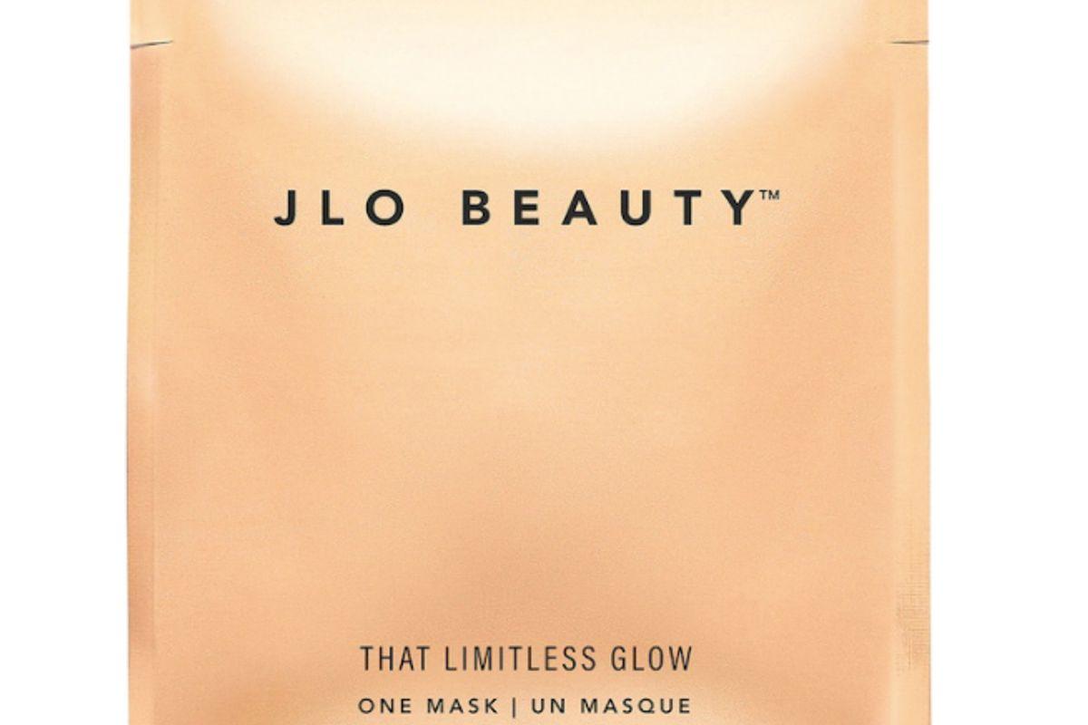 jlo beauty that limitless glow sheet mask