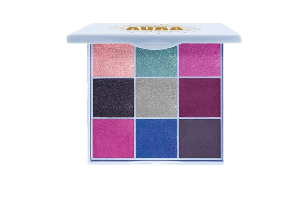 lime crime aura eye and face shadow palette