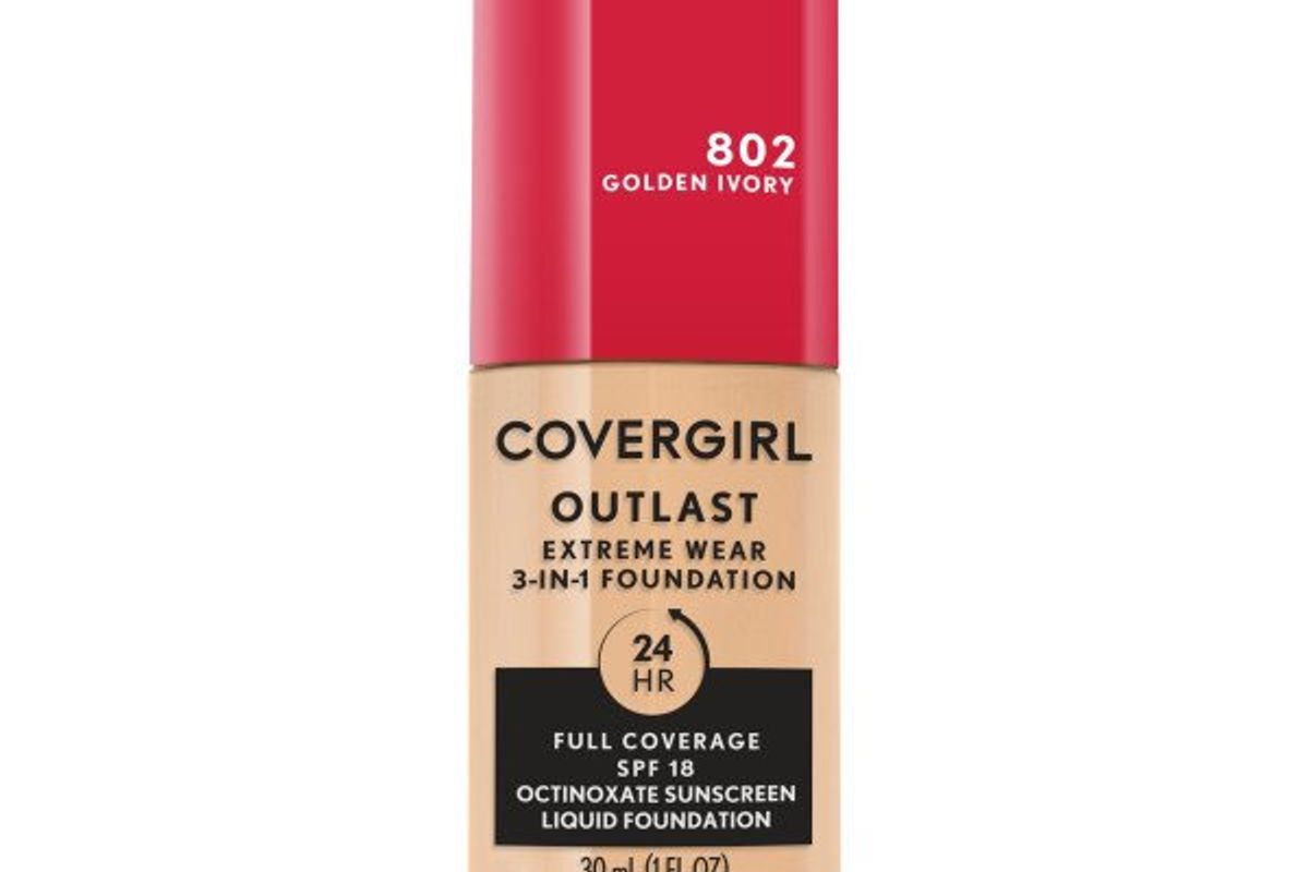 covergirl outlast extreme wear foundation spf 18