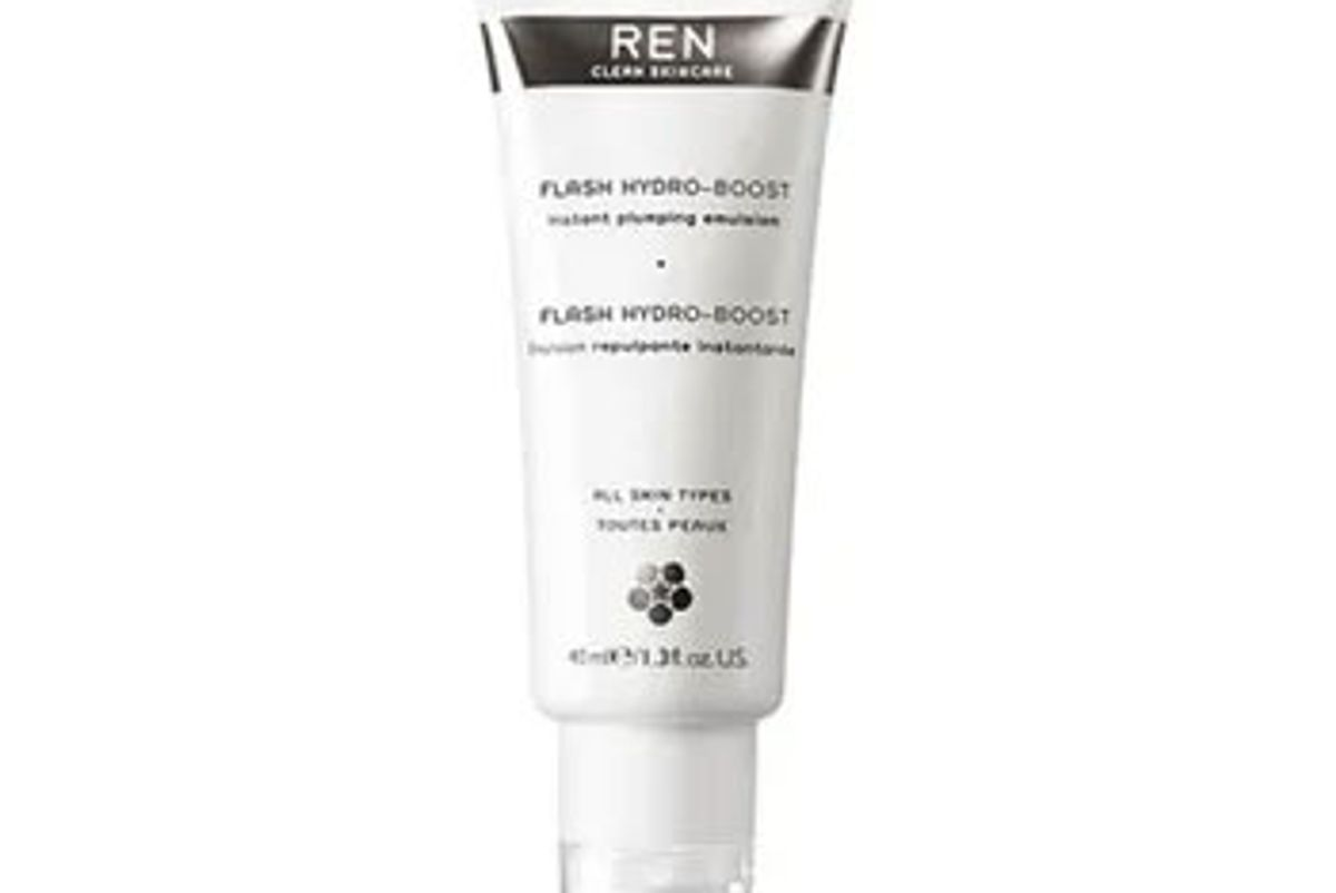 ren clean skincare flash hydro boost instant plumping emulsion