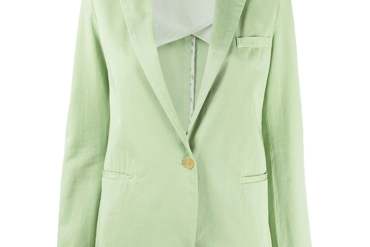 forte forte single breasted tailored blazer