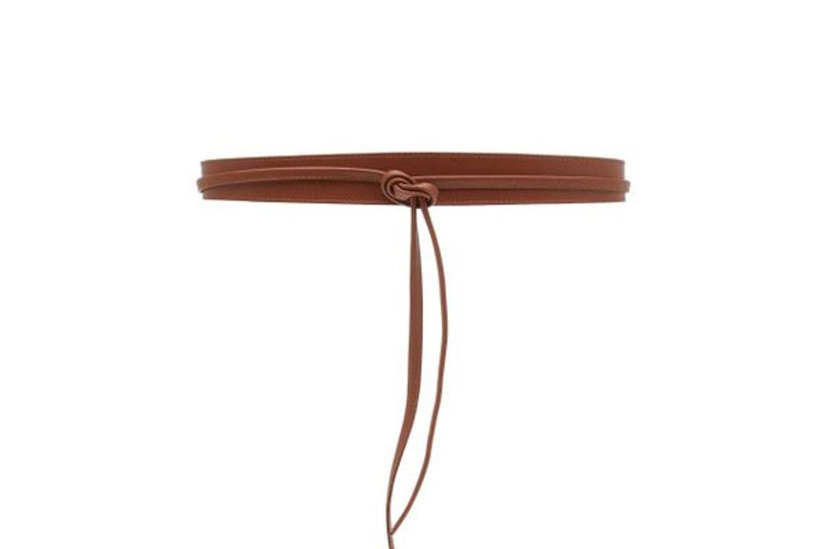 maison boinet leather corset belt