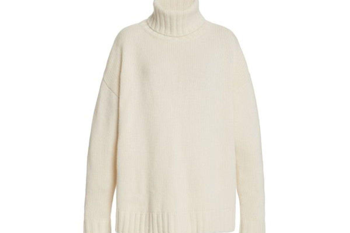 nili lotan rently oversized cashmere turtleneck sweater