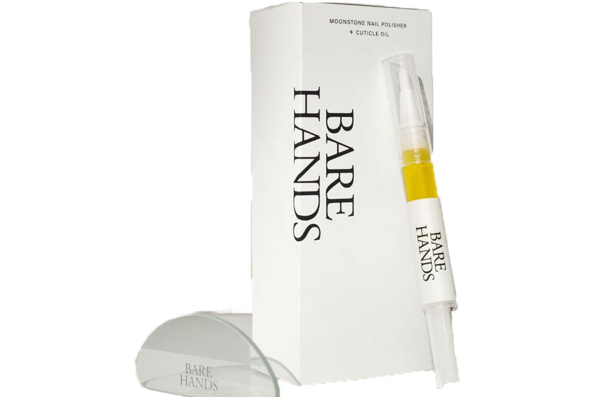 bare hands the dry gloss manicure set