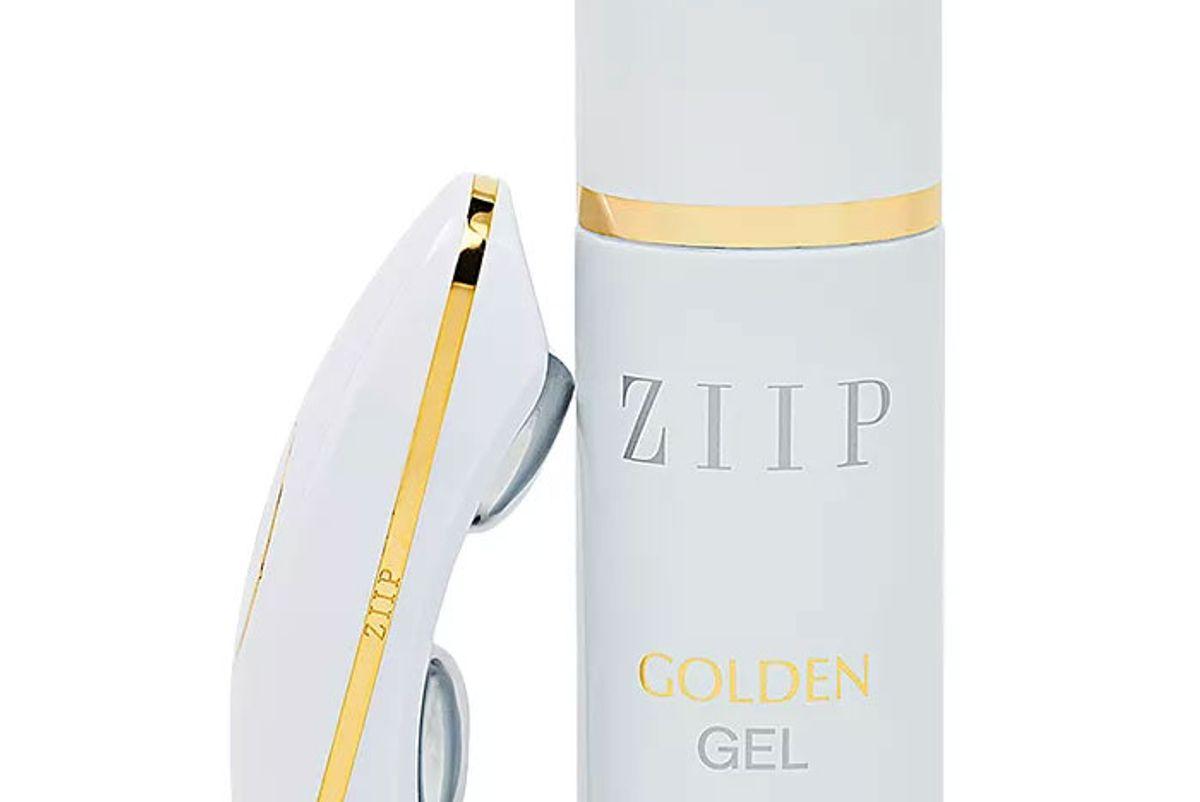 ziip device with golden conductive gel
