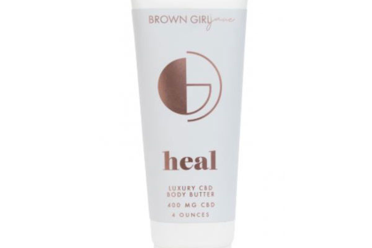 brown girl jane heal luxury cbd body butter