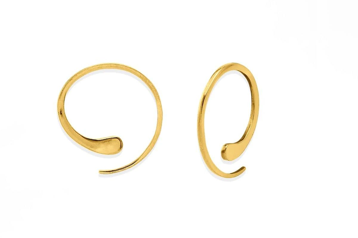 boma gold essential pull through hoops