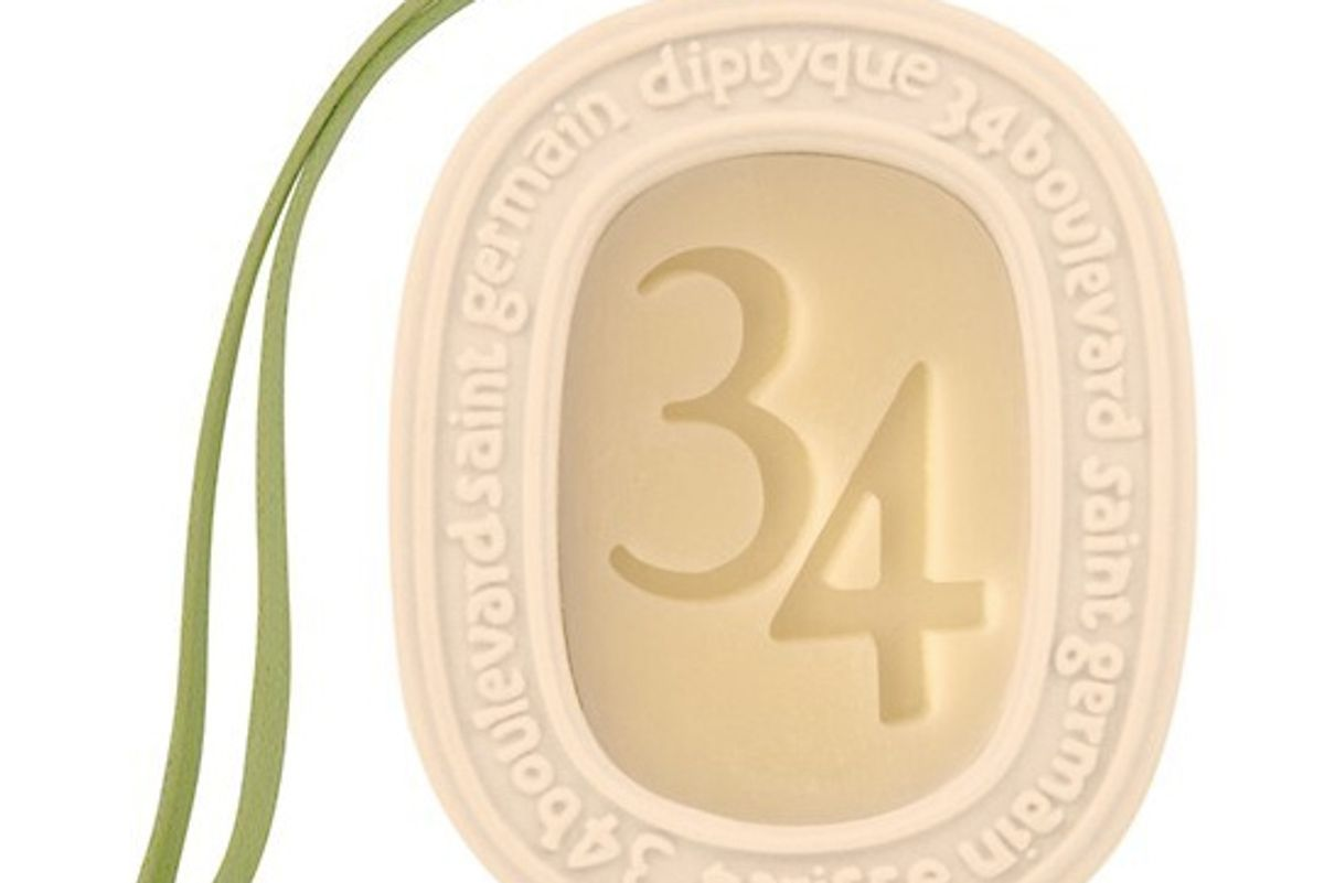 diptyque 34 boulevard saint germain scented oval