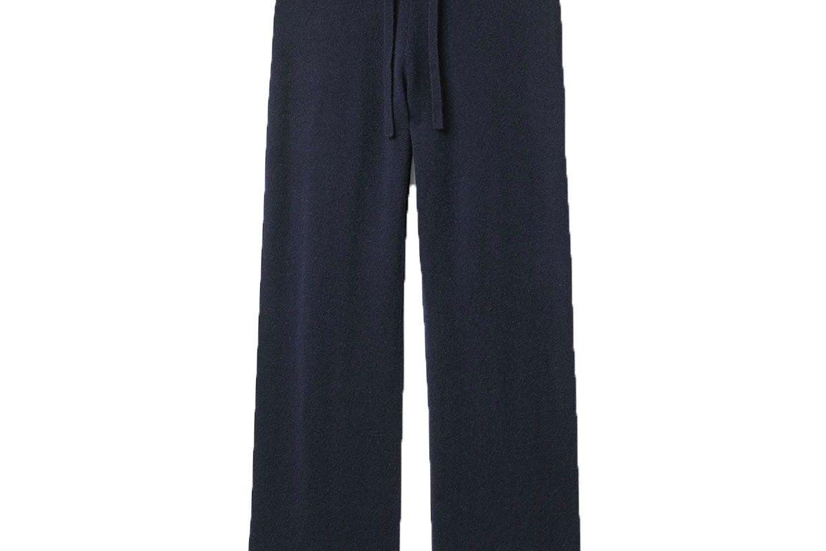ven store cashmere track pants
