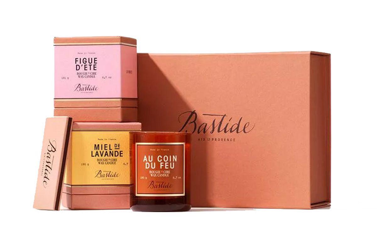 bastide signature candle collection
