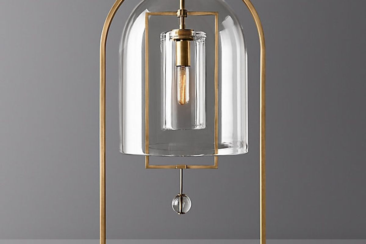 restoration hardware fulcrum table lamp
