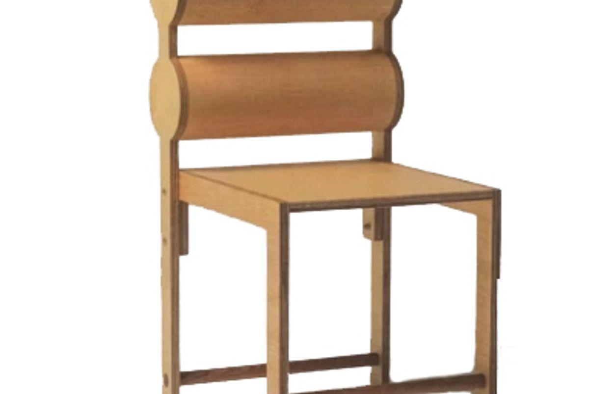 waka waka double cylinder back chair