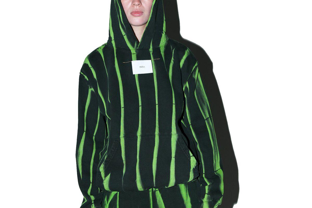 kkco hoodie in jupiter dye