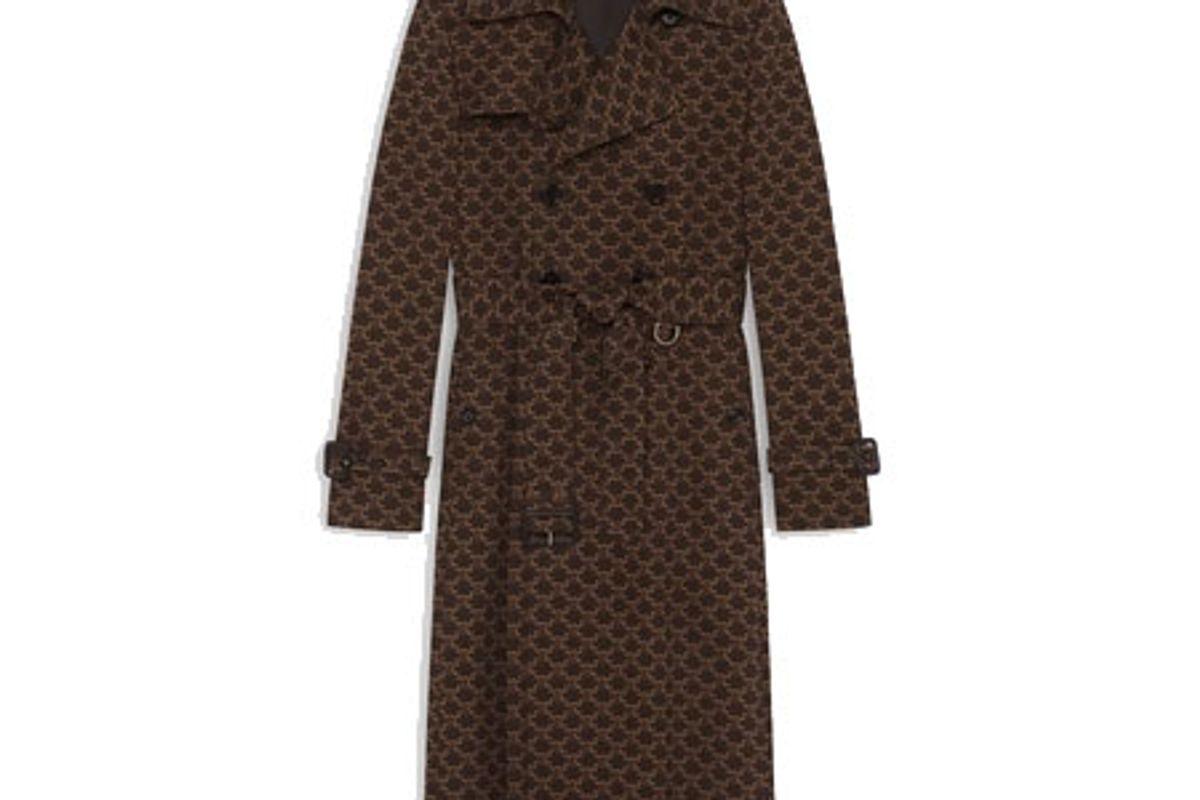 celine 70s trench coat
