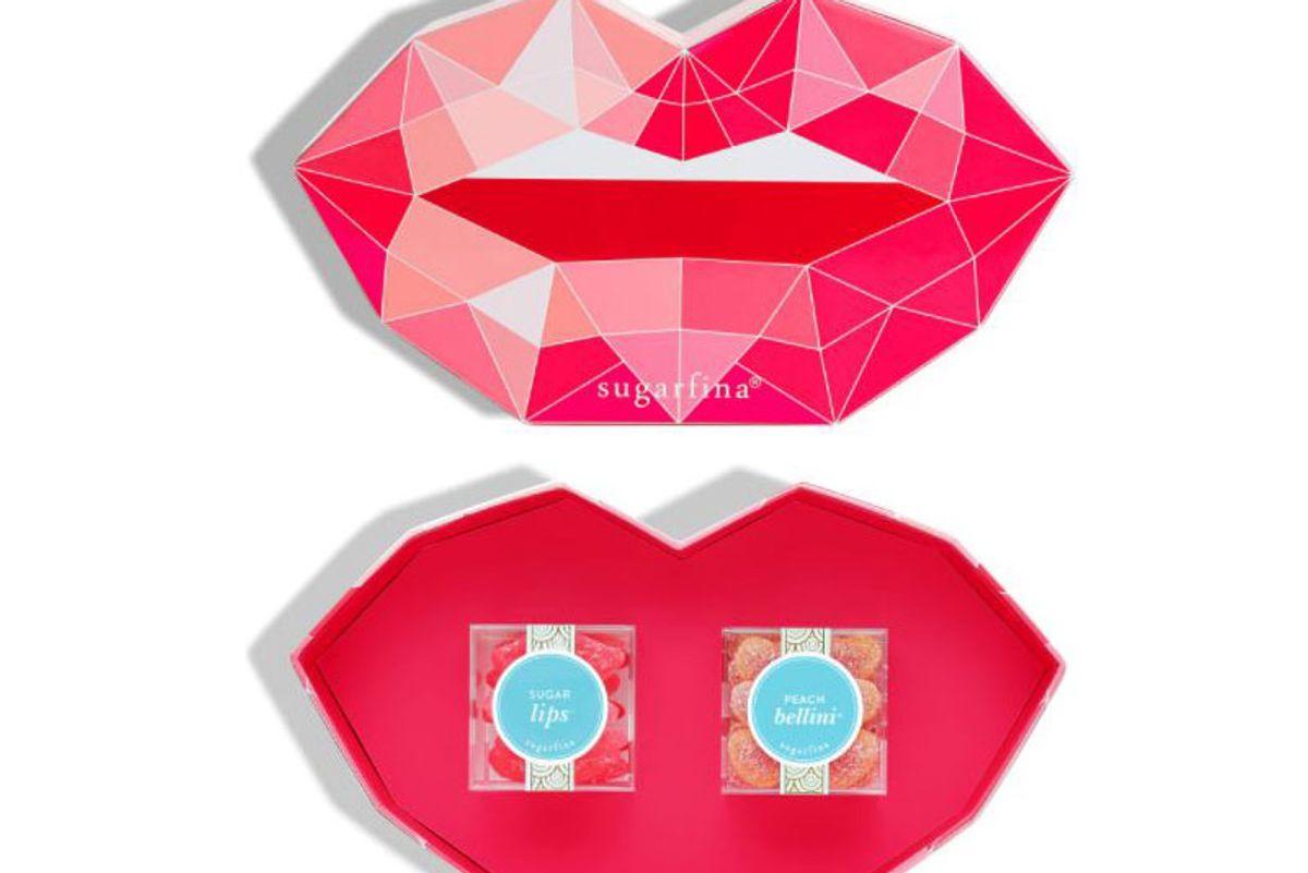 sugarfina pucker up 2 piece candy bento box