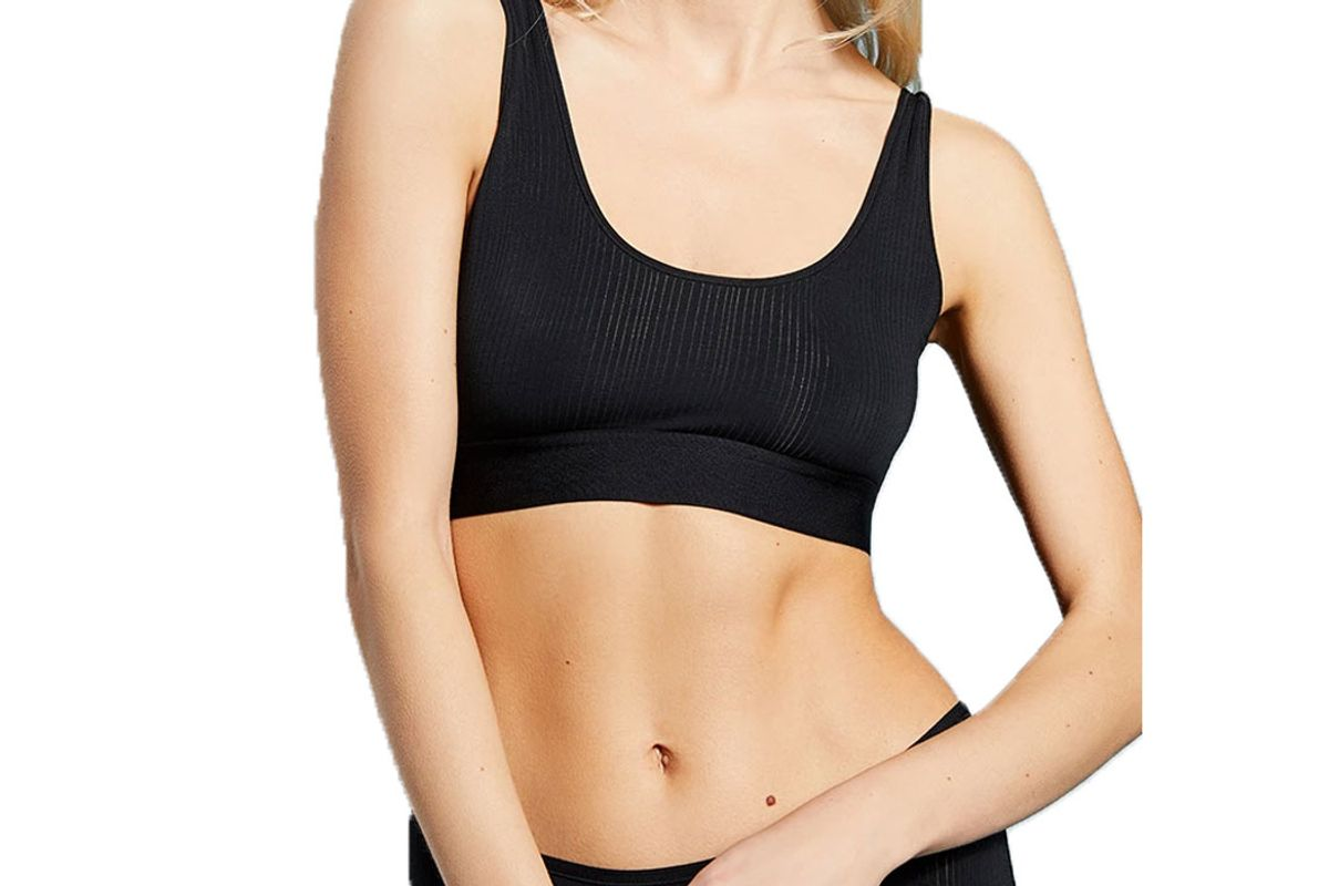 negative whipped bra top