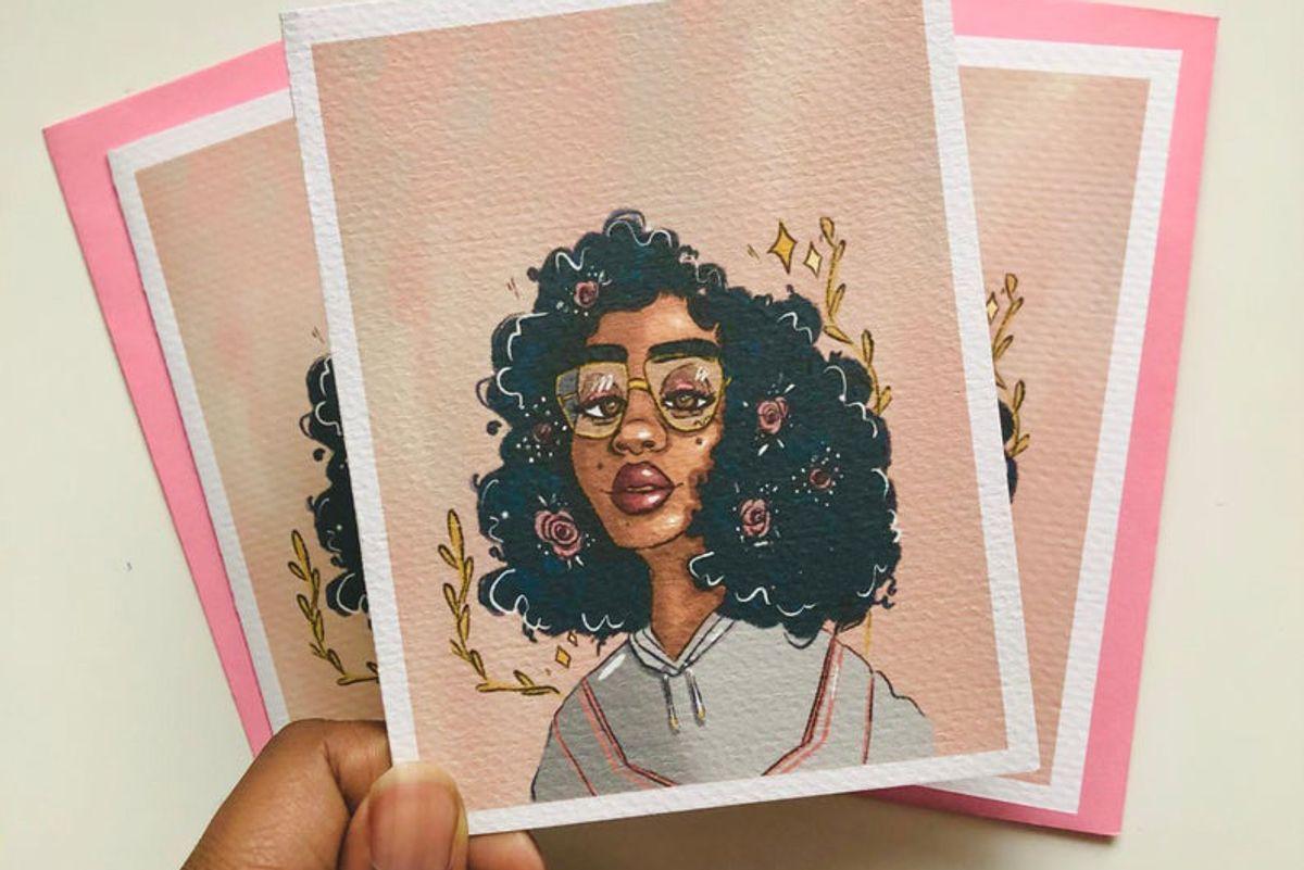 josephine destiny art uplifting greeting card