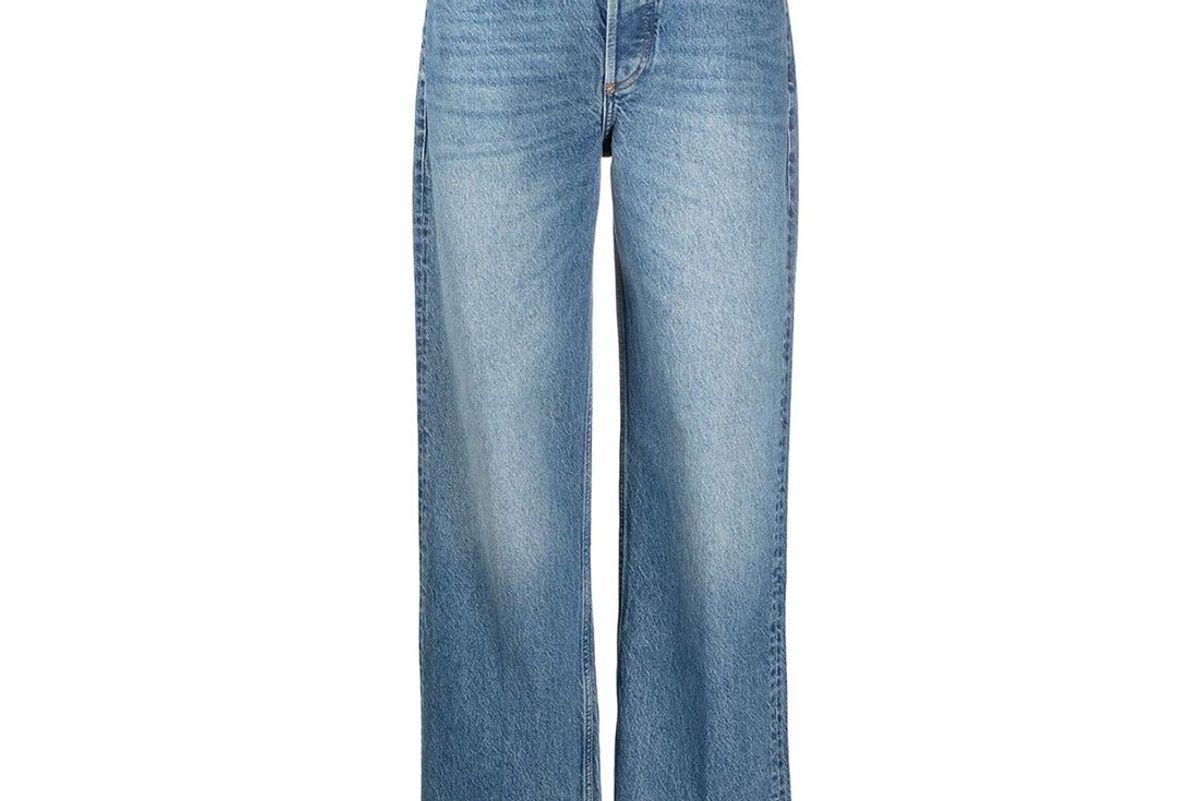 boyish jeans wide leg high waisted jeans