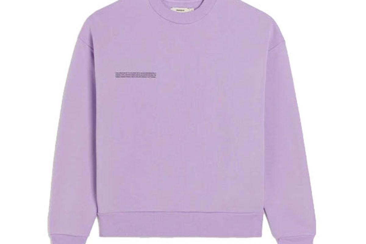 pangaia heavyweight recycled cotton sweatshirt