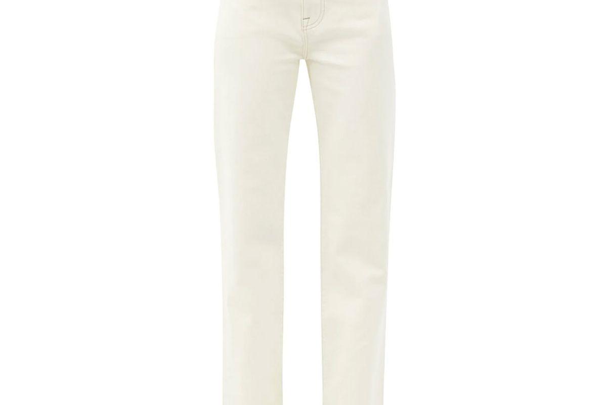 frame le jane straight leg jeans