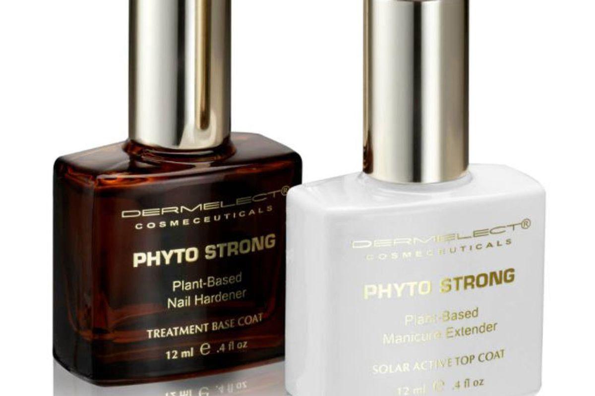 dermalect phyto strong nail kit natural nail duo