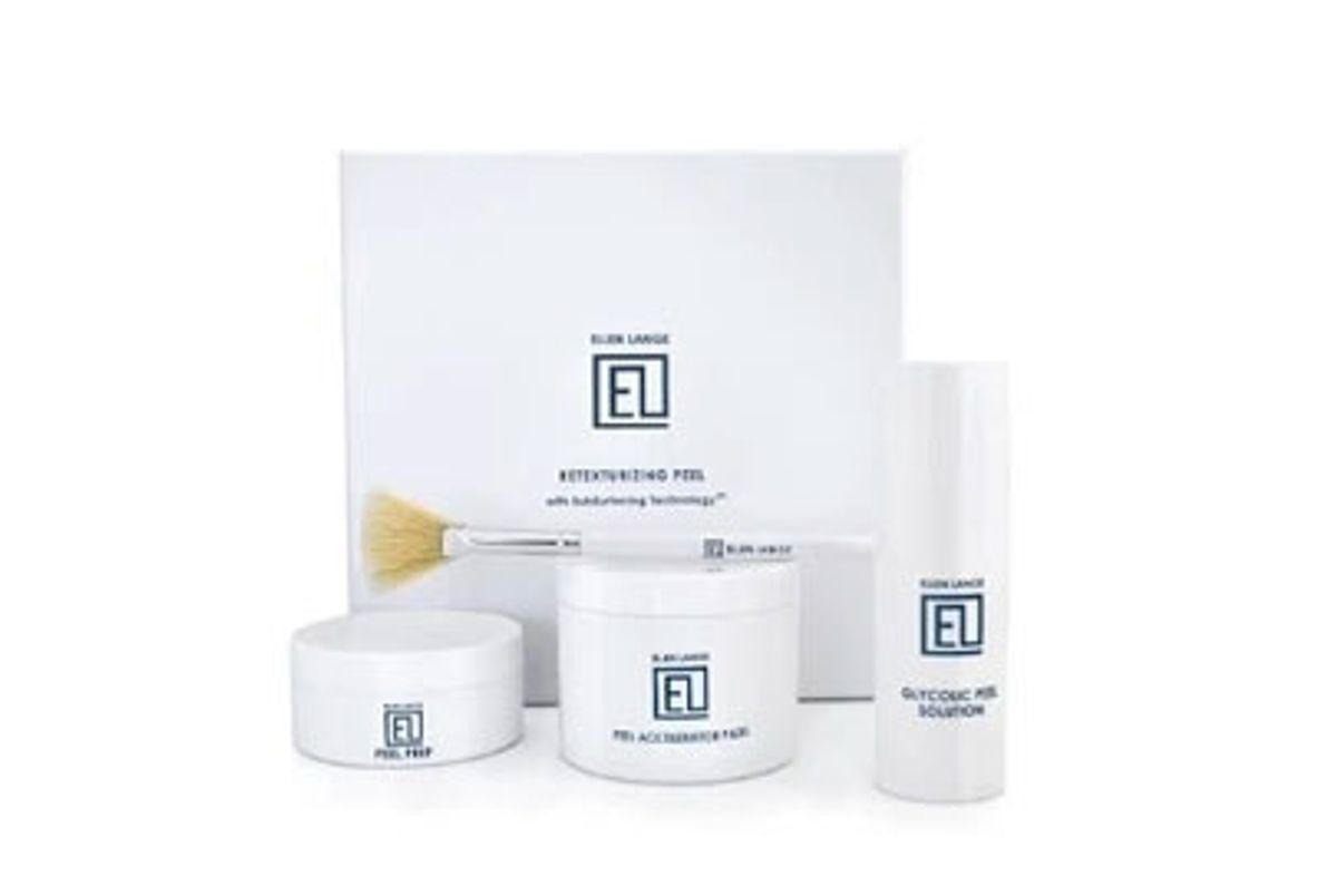 ellen lange retexurizing skin peel glycolic chemical facial treatment kit
